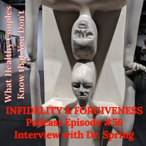 Infidelity & Forgiveness; Interview with Dr. Janis Spring